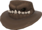 Painted Snaggletoothed Stetson 2D2D24.png