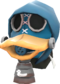 Painted Mr. Quackers 256D8D.png