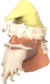 Painted Shoestring Santa F0E68C.png