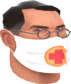 Painted Physician's Procedure Mask E6E6E6.png