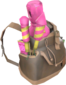Painted Pyrotechnic Tote FF69B4.png