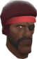 Painted Demoman's Fro 3B1F23.png