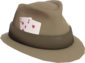 Painted Hat of Cards 7C6C57.png