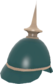 Painted Prussian Pickelhaube 2F4F4F.png