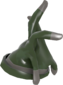 Painted Respectless Rubber Glove 424F3B.png