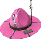 Painted Full Metal Drill Hat FF69B4.png