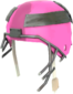 Painted Helmet Without a Home FF69B4.png