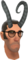 Painted Horrible Horns 7E7E7E Sniper.png