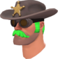Painted Sheriff's Stetson 32CD32.png
