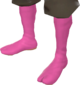 Painted Red Socks FF69B4.png
