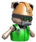 Painted Teddy Robobelt 32CD32.png