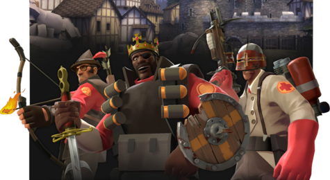Promotional art for the Medieval mode.