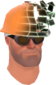 Painted Defragmenting Hard Hat 17% BCDDB3.png
