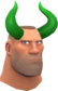 Painted Horrible Horns 32CD32 Soldier.png
