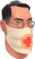 Painted Physician's Procedure Mask C5AF91.png