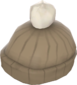 Painted Coldsnap Cap 7C6C57.png