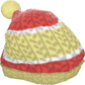 Painted Woolen Warmer F0E68C.png