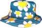 Painted Summer Hat 256D8D Carefree Summer Nap.png