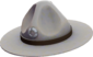 Painted Sergeant's Drill Hat 7E7E7E.png