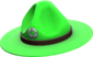 Painted Sergeant's Drill Hat 32CD32.png