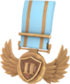 BLU Tournament Medal - CustomLander TF2 Bronze Medal.png