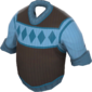 Painted Siberian Sweater 256D8D.png