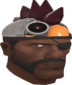 Painted Robot Chicken Hat 3B1F23.png