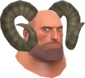 Painted Horrible Horns 7C6C57 Heavy.png