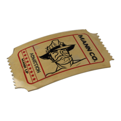 [Image: http://wiki.teamfortress.com/w/images/thumb/9/9b/Backpack_Tour_of_Duty_Ticket.png/250px-Backpack_Tour_of_Duty_Ticket.png]