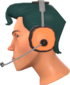 Painted Greased Lightning 2F4F4F Headset.png