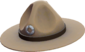 Painted Sergeant's Drill Hat 7C6C57.png