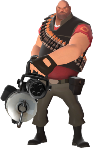 You dare challenge Heavy Weapons Guy?