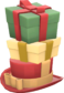 Painted Towering Pile of Presents E7B53B.png