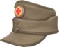 Painted Medic's Mountain Cap 7C6C57.png