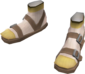 Painted Lonesome Loafers F0E68C.png