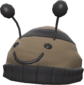 Painted Bumble Beenie 7C6C57.png