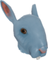 Painted Horrific Head of Hare 256D8D.png