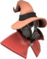 Painted Seared Sorcerer E9967A Hat and Cape Only.png