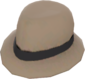 Painted Flipped Trilby 7C6C57.png