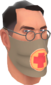Painted Physician's Procedure Mask 7C6C57.png