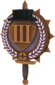 Painted Tournament Medal - Chapelaria Highlander D8BED8 Third Place.png