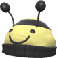 Painted Bumble Beenie F0E68C.png