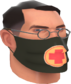 Painted Physician's Procedure Mask 2D2D24.png