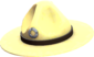 Painted Sergeant's Drill Hat F0E68C.png