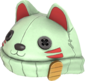 Painted Lucky Cat Hat BCDDB3.png