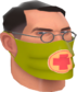 Painted Physician's Procedure Mask 808000.png
