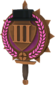 Painted Tournament Medal - Chapelaria Highlander FF69B4 Third Place.png