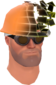 Painted Defragmenting Hard Hat 17% 808000.png