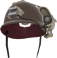 Painted Cross-Comm Crash Helmet 7E7E7E.png