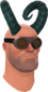 Painted Horrible Horns 2F4F4F Engineer.png